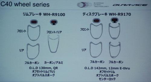 SHIMANO WH-R9100 WH-R9170 C40 SERIES Dura Ace WHEEL(シマノ デュラエース 40mm ホイール )