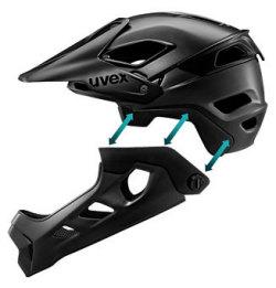 UVEX HELMET TECHNOLOGY REMOVABLE CHINGUARD ウベックス ヘルメット テクノロジー リムーバブルチンガード