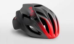 MET RIVALE BLACKRED メット リバーレ ブラックレッド ロードバイク用 ヘルメット