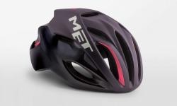 MET RIVALE DEEPPURPLEBLACK メット リバーレ ディープパープルブラック ロードバイク用 ヘルメット