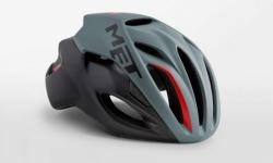 MET RIVALE GRAYBLACK  メット リバーレ グレイブラック ロードバイク用 ヘルメット
