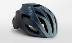 MET RIVALE  SHADEDBLUE メット リバーレ シェーディッドブルー ロードバイク用 ヘルメット