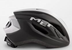 MET STRALE BLACKWHITEPANEL2 メット ストラーレ ブラックホワイトパネル2  ロードバイク用 ヘルメット