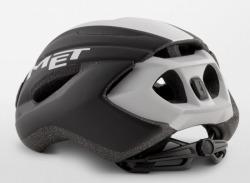 MET STRALE BLACKWHITEPANEL3 メット ストラーレ ブラックホワイトパネル3  ロードバイク用 ヘルメット