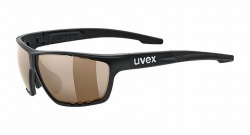 UVEX sunglass sportstyle 704 cvi(ウベックス サングラス スポーツスタイル 704 カラービジョン ブラックマット(デイリー))