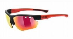 UVEX sportstyle 115(ウベックス サングラス スポーツスタイル ブラックマットレッド)