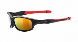UVEX sportstyle 507(ウベックス サングラス スポーツスタイル 507 ブラックマットレッド)