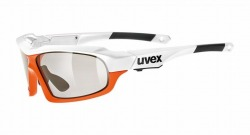 UVEX sunglass variotronic ff(ウベックス サングラス ヴァリオトロニック エフエフ ホワイトオレンジ)