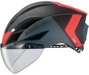 OGK KABUTO HELMET AERO-R1 TR MAT BLACK RED OGK カブト ヘルメット エアロ-R1TR マットブラックレッド