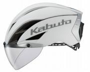 OGK KABUTO HELMET AERO-R1TR MAT WHITE OGK カブト ヘルメット エアロ-R1TR マットホワイト