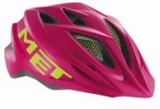 MET CRACKERJACK  PINKGREEN メット クラッカージャック ピンクグリーン ジュニアバイク用 ヘルメット
