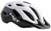 MET CROSSOVER WHITEBLACK メット クロスオーバー ホワイトブラック シティバイク用 ヘルメット