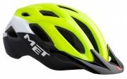 MET CROSSOVER SAFETYYELLOW メット クロスオーバー セーフティイエロー シティバイク用 ヘルメット