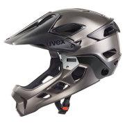 uvex helmet jakkyl hde blackdarksilver ウベックス ヘルメット JAKKYL ブラックダークシルバー