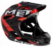 MET HELMET PARACHUTE HES BLACKRED  メット ヘルメット パラシュート HES ブラックレッド マウンテンバイク用