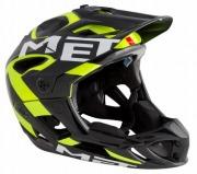 MET HELMET PARACHUTE HES YELLOWGREENBLACK  メット ヘルメット パラシュート HES イエローグリーンブラック マウンテンバイク用