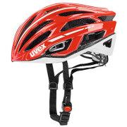 uvex helmet race5 redwhite ウベックス ヘルメット レースファイブ レッドホワイト