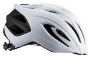 OGK KABUTO HELMET RECT LADIES LOGO MAT PAERL WHITE OGK カブト ヘルメット レクト レディース ロゴ マットパールホワイト ビュー
