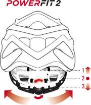 RH+ HELMET POWER FIT 2(アールエイチプラス ヘルメット パワー ヒット)