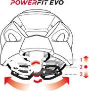 RH+ HELMET POWER FIT EVO(アールエイチプラス ヘルメット パワー ヒット エボ)