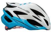 OGK KABUTO HELMET AERO-V1 PEARL WHITE BLUE OGK カブト ヘルメット エアロ-V1 パールホワイトブルー