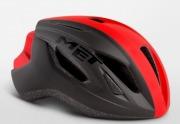 MET STRALE BLACKREDPANEL メット ストラーレ ブラックレッドパネル  ロードバイク用 ヘルメット