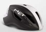 MET STRALE BLACKWHITEPANEL メット ストラーレ ブラックホワイトパネル  ロードバイク用 ヘルメット