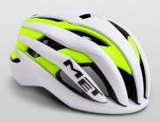 MET TRENTA WHITESAFETYYELLOW ヘルメット トレンタ ホワイトセーフティイエロー ロードバイク用 ヘルメット