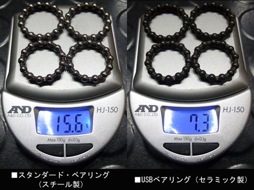 CAMPAGNOLO ZONDA C17 USB BEARING WEIGHT(カンパニョーロ ゾンダ ユーエスビー ベアリング 重量 )